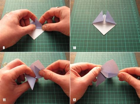 Origami Bookmark Tutorial - paper crafts for recycled origami bookmarks tutorial