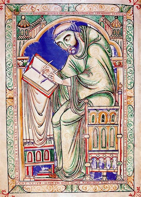 The Scribe anglo saxon in faith