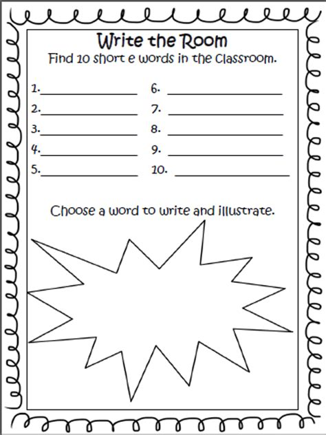 learning with firsties worksheet wednesday