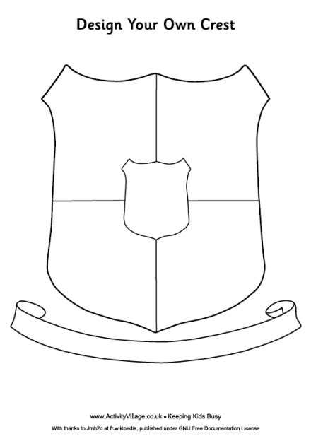 design your own house for kids image gallery knight printable shield