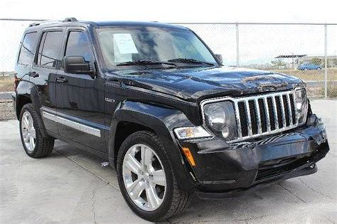 wrecked jeep liberty buy used 2012 jeep liberty limited jet damaged salvage
