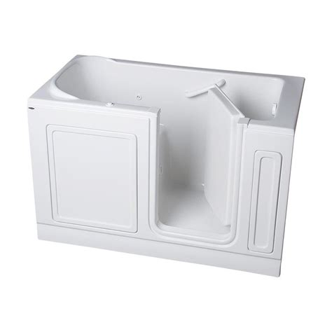 home depot walk in bathtub american standard acrylic standard series 60 in x 32 in