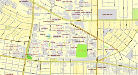 maps albuquerque albuquerque new mexico us exact map printable city