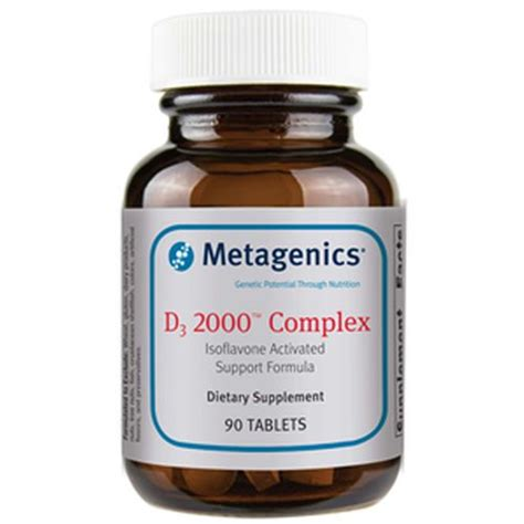 Metagenics Detox Cleanse by Metagenics D3 2 000 Complex 90 Tablets Evitamins