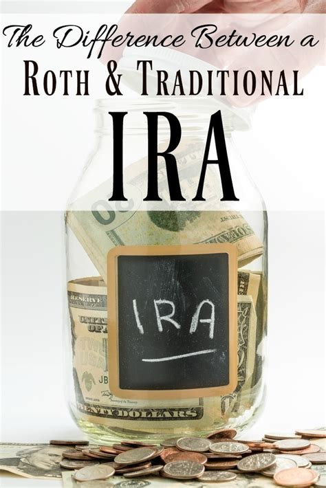 traditional ira or roth the difference between a roth traditional ira