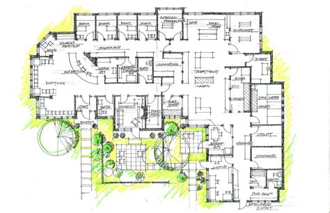 design plans hospital layout plan szukaj w architecture