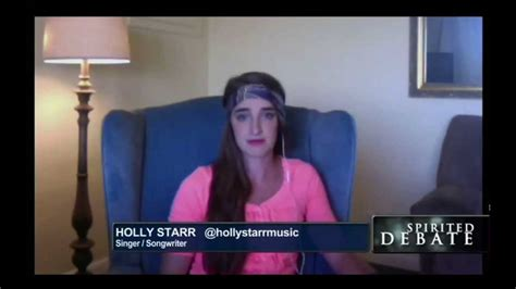 holly stars holly starr fox news live interview youtube