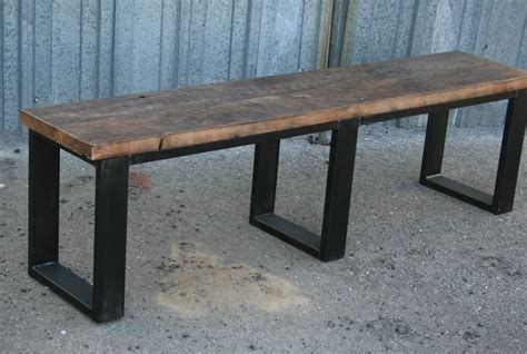 tables with benches seating combine 9 industrial furniture industrial bench