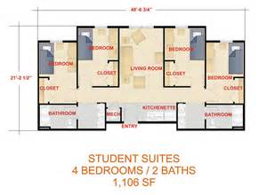 Housing Floor Plans Layout by Laker Hall Floor Plans Housing Amp Residence Life