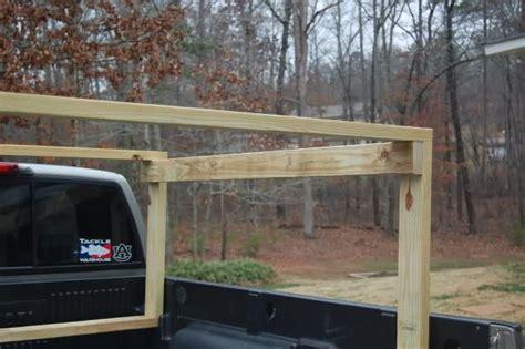 Diy Canoe Rack For Truck by Truck Rack Diy Truck Bed Kayak Rack
