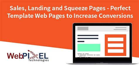 sales pages landing page and squeeze pages perfect