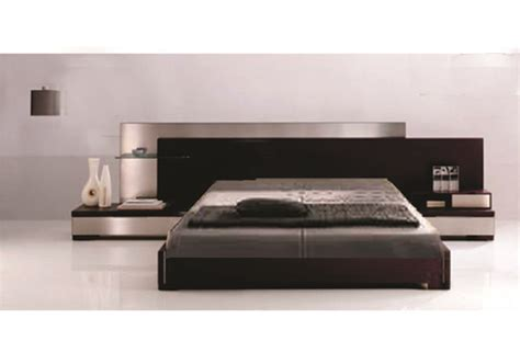 modern bed comfortable furniture box bed design