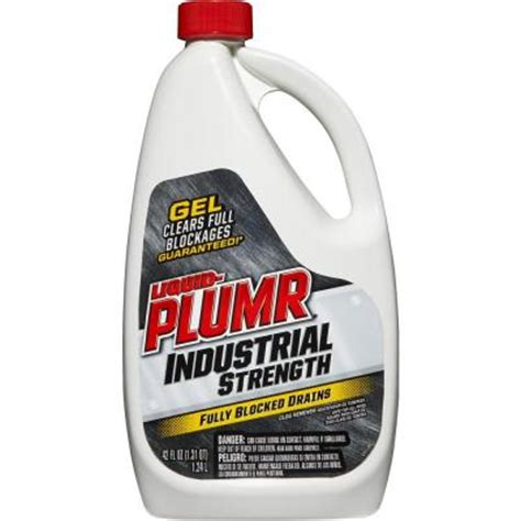 liquid plumr 42 oz industrial strength gel drain opener
