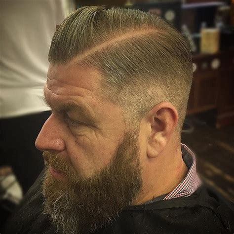 men taper on the sides with beard 50 stylish hairstyles for men with thin hair
