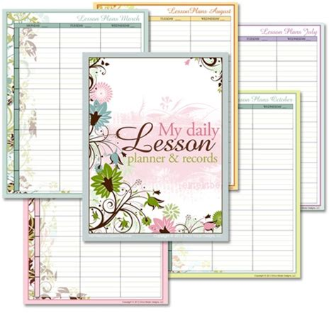 homeschool lesson planner book homeschool lesson planner floral confessions of a