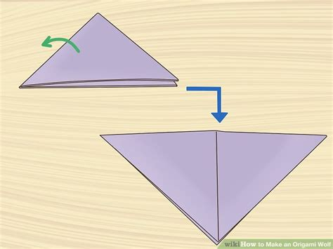 Easy Origami Wolf - how to make an origami wolf with pictures wikihow