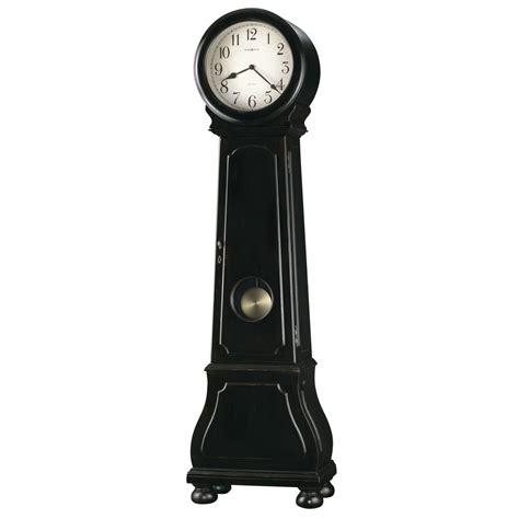 floor clocks howard miller nashua distressed black floor clock 615005