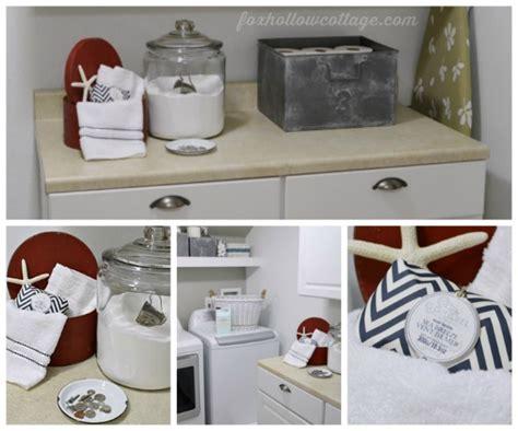 nod to nautical bathroom makeover reveal fox hollow cottage 20 budget bathroom makeover a no awesome small grey