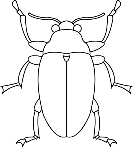 bug template printable clipart best