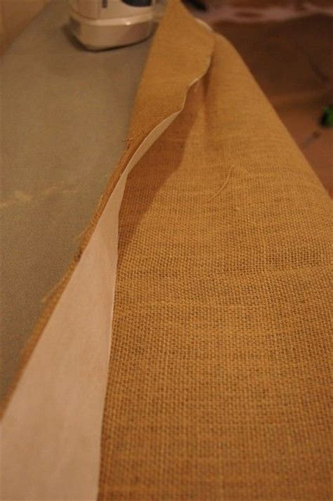 how to make burlap curtains without sewing pinterest the world s catalog of ideas