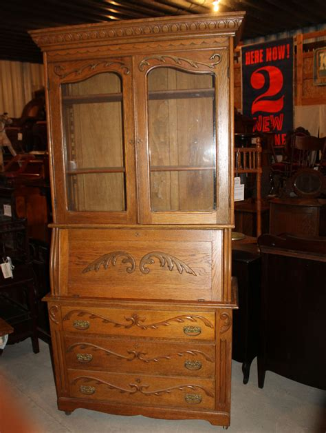 antique drop front secretary desk with bookcase bargain john s antiques 187 blog archive antique oak drop