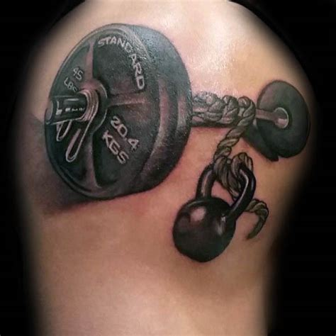 tattoo quotes gym 50 fitness tattoos for men bodybuilding design ideas