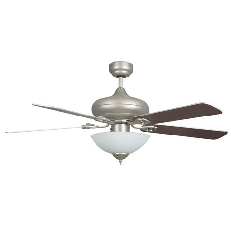 contempo ceiling fan contempo in indoor brushed nickel ceiling fan with