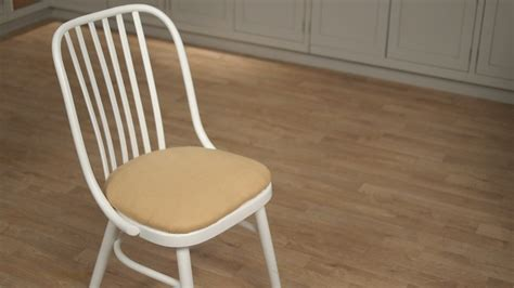 how to upholster a wooden chair how to upholster a vanity chair martha stewart
