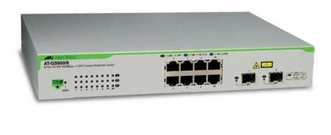Allied Telesys Gs 910 8switch 8 Port category networking allied telesis gigabit websmart switch viriya computama