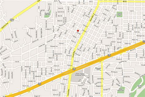 map wichita falls texas the floral heights church of in wichita falls texas