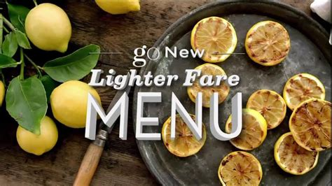 Lighter At Olive Garden What Olive Garden Lighter Fare Menu Tv Commercial Go Ispot Tv
