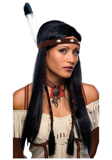 cherokee women long hair women s native american cutie wig