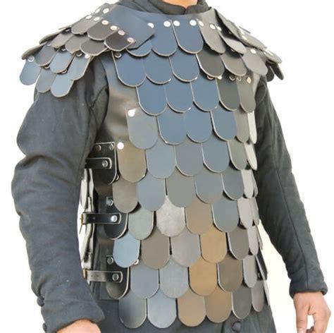 Medieval Dragon Home Decor leather scale armor snla6235bk leather body armor