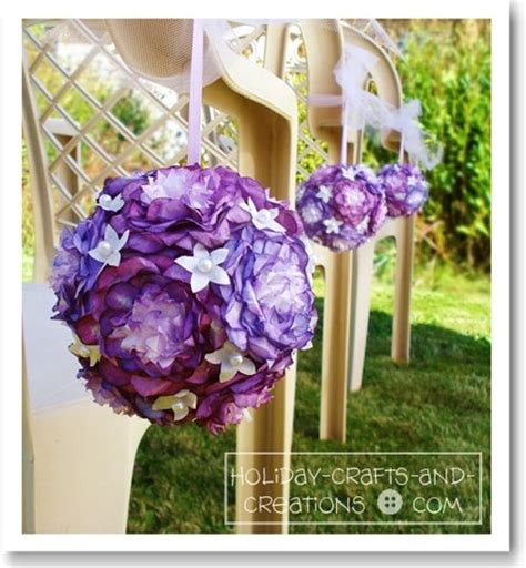 How To Make Paper Flower Balls For Wedding - wedding pomander balls peony design
