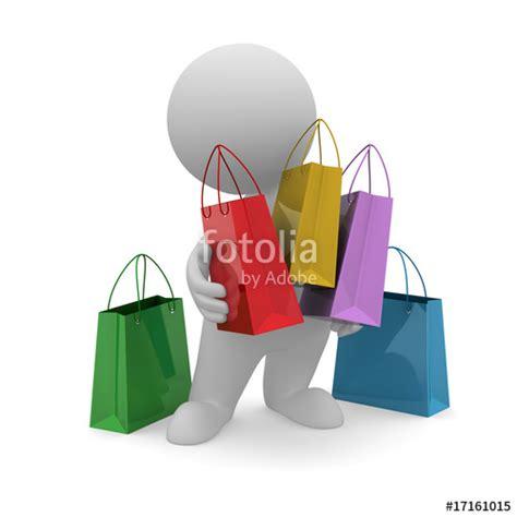omino clipart quot omino shopping quot immagini e fotografie royalty free su