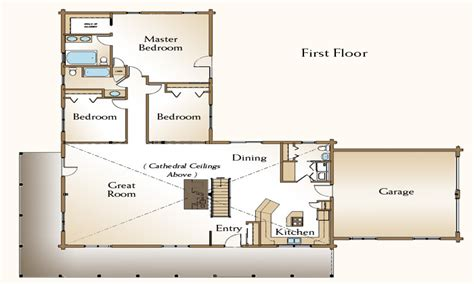 cabin floorplans 3 bedroom home kits 3 bedroom log cabin floor plans 3