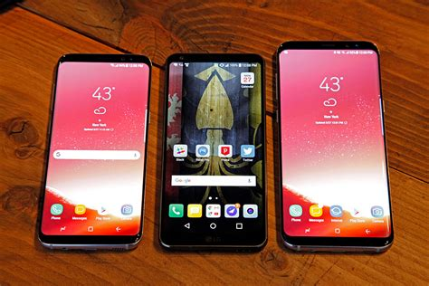 galaxy s8 vs lg g6 speed test which next android phone is faster bgr