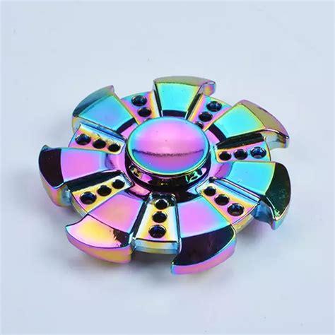 Promo Fidget Spinner Chrome Metalic Lu Led On Kualitas Bagus neo chrome fidget spinner fidget spinner uk