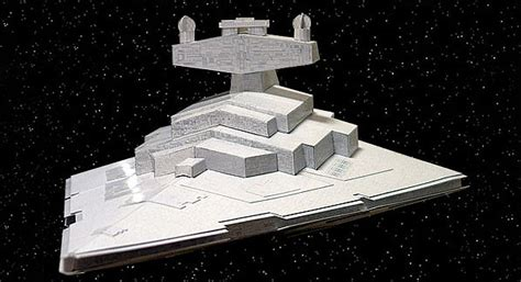 Destroyer Papercraft - pocketburgers 16 awesome wars papercraft models