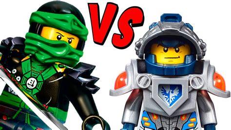 Lego Ninjago Vs lego nexo knights vs ninjago which is better