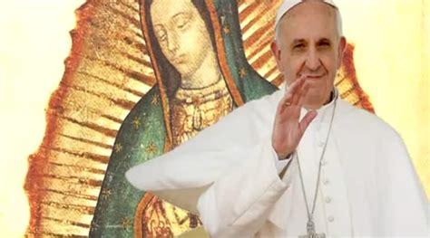 imagenes virgen de guadalupe con el papa francisco viajar 225 a m 233 xico en el primer semestre de 2016