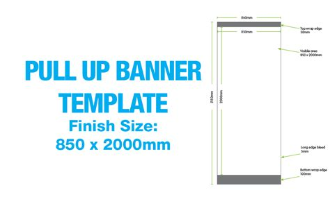 banner sizes template images