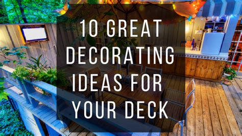 great decorating ideas 10 great decorating ideas for your deck ready seal