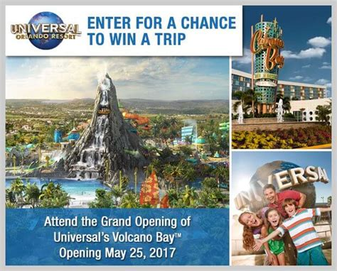 Access Hollywood Orlando Vacation Sweepstakes - access hollywood s volcano bay sweepstakes word of the day winzily