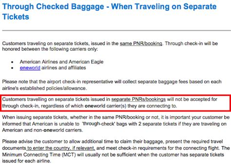 american airlines checked baggage american s latest unfriendly baggage policy change one
