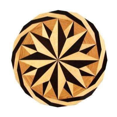 Decorative Inlays by Wood Inlays Medallions Wood Flooring The Home Depot
