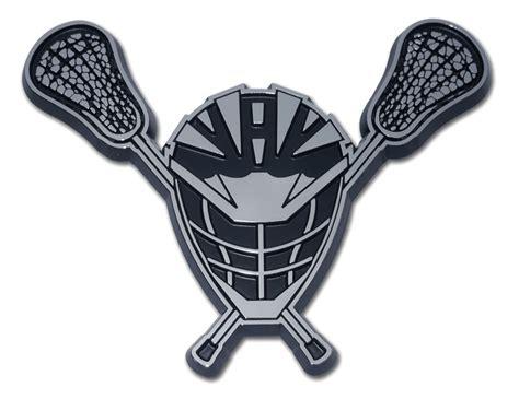 Lacrosse Fundraising Letter lacrosse chrome emblem elektroplate