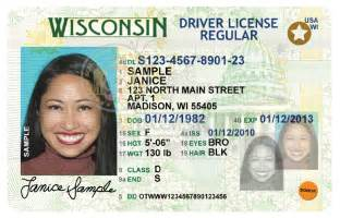 wisconsin drivers license template id trainers new wisconsin driver license and ids