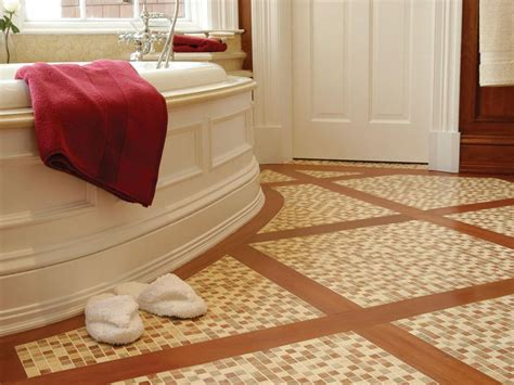 tile floor designs for bathrooms choosing bathroom flooring hgtv