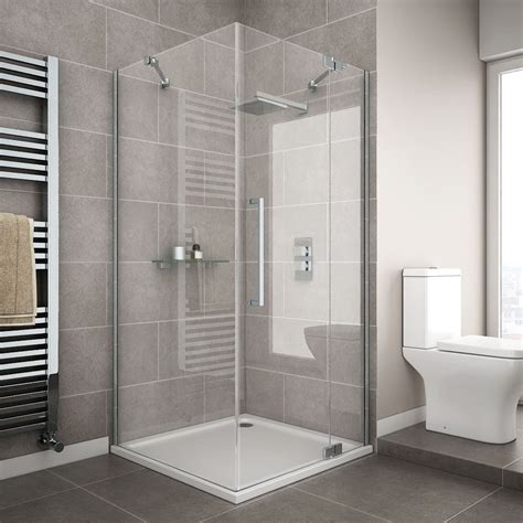 shower cubicles for small bathrooms uk apollo frameless hinged door square enclosure r h opening